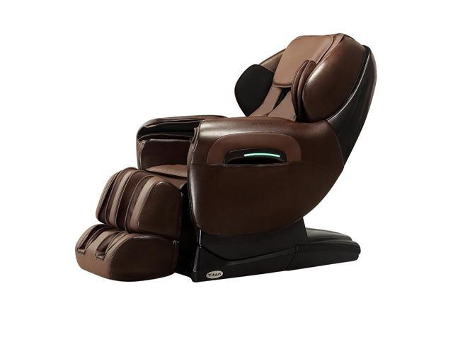 Titan TP 8400 BROWN Deluxe Reclining Zero Gravity Massage Chair W/ Warranty