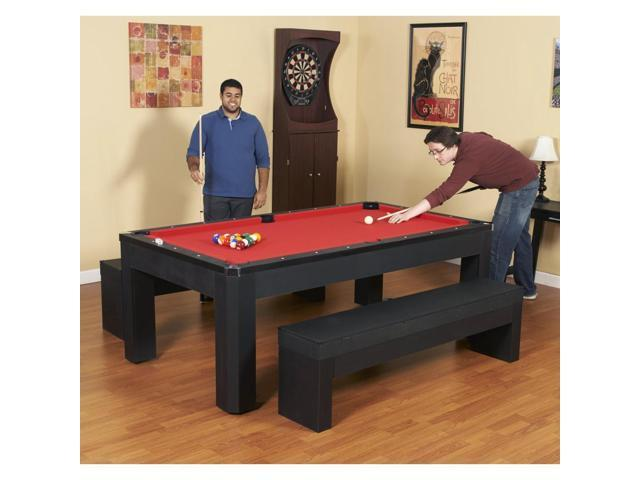 Amazing Bluewave Pool Tables Ng2530Pr Park Avenue 7 Pool Table Set With Benches Top Newegg Com Pdpeps Interior Chair Design Pdpepsorg