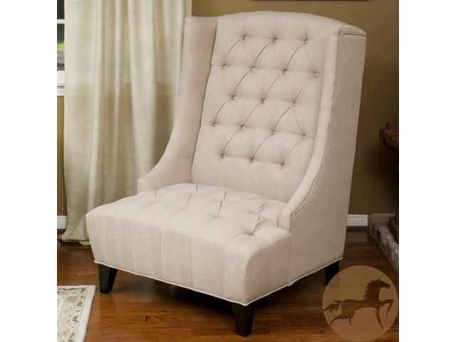 Sensational Christopher Knight Home Miles Tall Wingback Accent Chair Bralicious Painted Fabric Chair Ideas Braliciousco