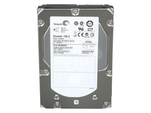 "Seagate Cheetah 15K.7 ST3450857SS 450GB 3.5/"" SAS Enterprise Hard Drive Lot of 4"