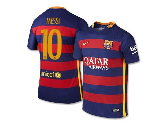 ec1809494f61e Men's 2015/16 FC Barcelona Lionel Messi 10 Home Soccer Jersey (US Size Extra