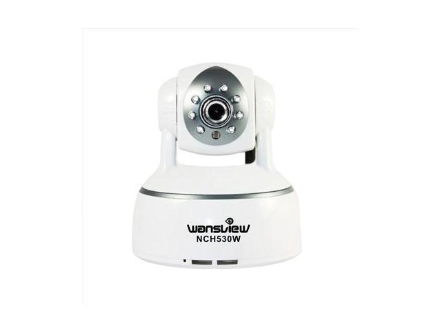 Wansview NCH-530W Wireless H 264 Indoor Ip Camera w/ Remote Control/ Pan &  Tilt/ Motion Triggered Recording/ IR Cut/ Night Vision - Newegg com