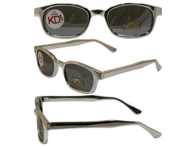 9732e31f322e Original KD s Biker Sunglasses Chrome Frame with Silver Mirrored Lenses