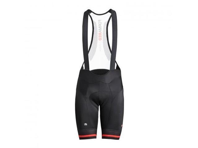 Giordana 2020 Men's FR-C Pro Cycling Bib Shorts - GICS20-BIBS-FRCP  (BLACK/RED - M) - Newegg com
