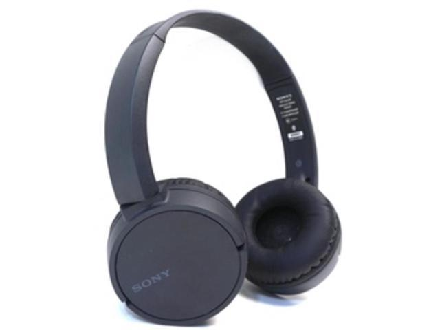 Sony Zx220bt Wireless On Ear Bluetooth Headphones With 30mm Drivers Swivel Earcups Nfc One Touch And Built In Microphone Black Newegg Com