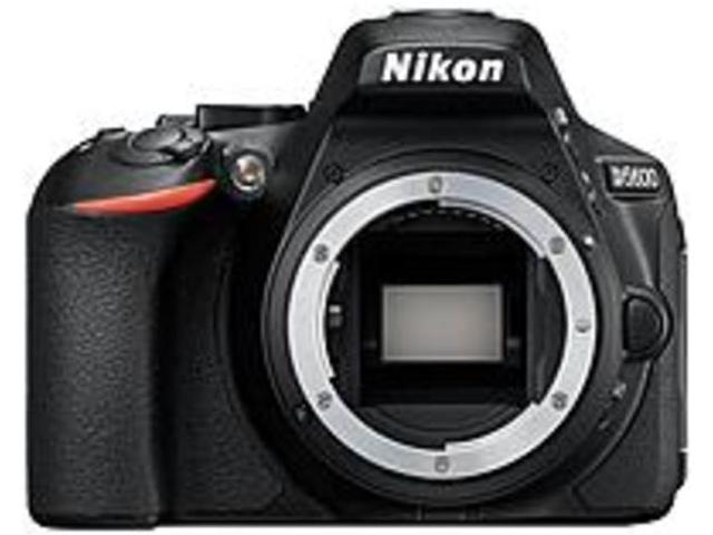 "Nikon D5600 24.2 Megapixel Digital SLR Camera Body Only - Black - 3.2"" Touchscreen LCD - 16:9 - TTL - 6000 x 4000 Image - 1920 x 1080 Video - HD Movie Mode - Wireless LAN"