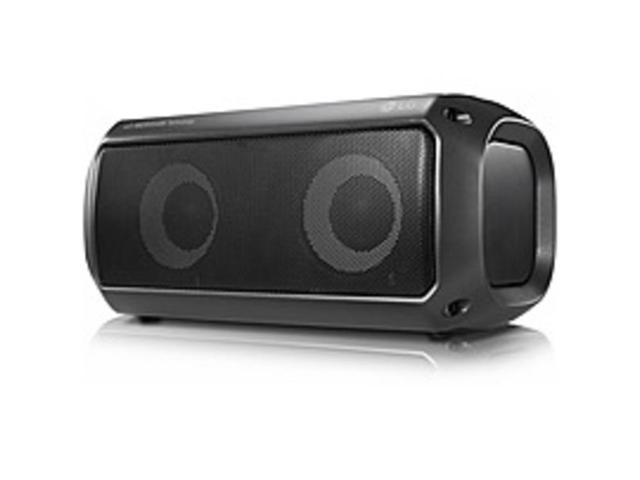 Refurbished: LG PK3 2 0 Portable Bluetooth Speaker System - Battery  Rechargeable - Newegg com