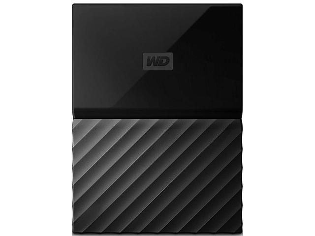 Refurbished: Western Digital WDBZGE0020BBKNE 2 TB My Passport USB 3 0  External Hard Drive - Works with PS4 - Black - Newegg com
