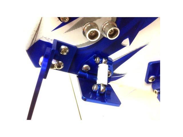 2 Hot Racing SPN311AR06 Aluminum Adjustable Trims Tabs Tra Spartan