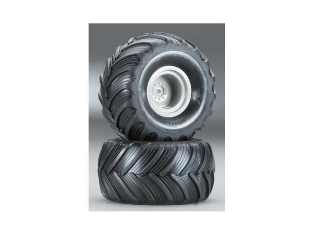 Traxxas 7265 1/16 Monster Truck Assembled Tires and Wheels (2) - Newegg com