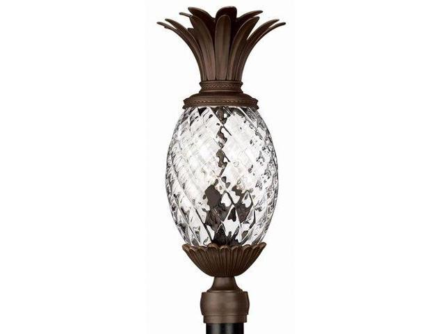 Hinkley Lighting 2221cb 3 Light Pinele Post From The Plantation Collection Copper Bronze