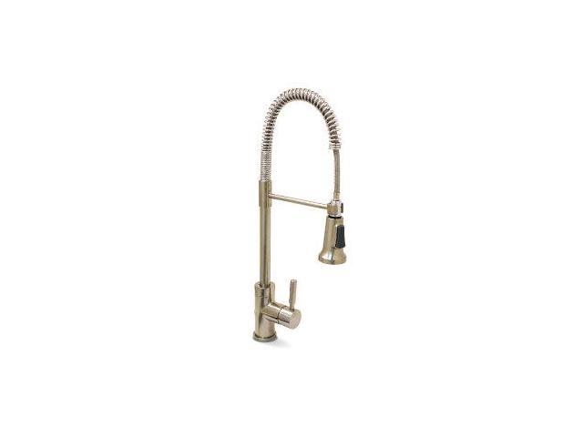 Essen Kitchen Faucet Pull-Down Spray Brushed Nickel Lead Free PREMIER  120334LF