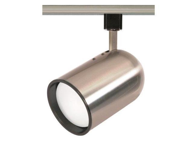 Nuvo th306 brushed nickel 1 light r30 track head bullet nuvo lighting th306 track lighting indoor lighting brushed nickel aloadofball Images