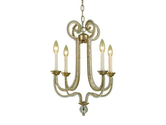 Af Lighting 6773 4h Candice Olson Camerson 4 Light Single Tier Chandelier With Newegg