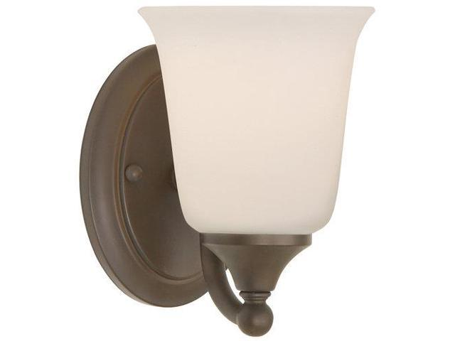 Feiss Canterbury 3 Light Vanity Fixture Oil Rubbed Bronze: Feiss Claridge 1-Light Vanity Fixture In Oil Rubbed Bronze