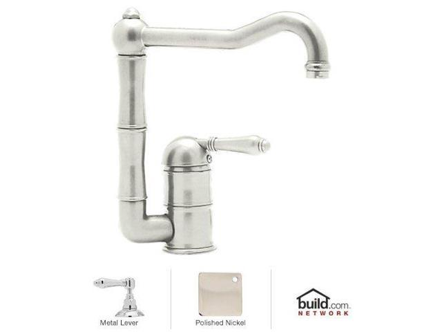 Rohl A3608LMPN-2 Kitchen , Faucet, Polished Nickel - Newegg.com