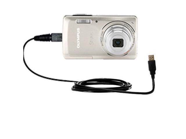 USB Data+Battery Power Charging Cable//Cord//Lead for Olympus camera Stylus u 5010