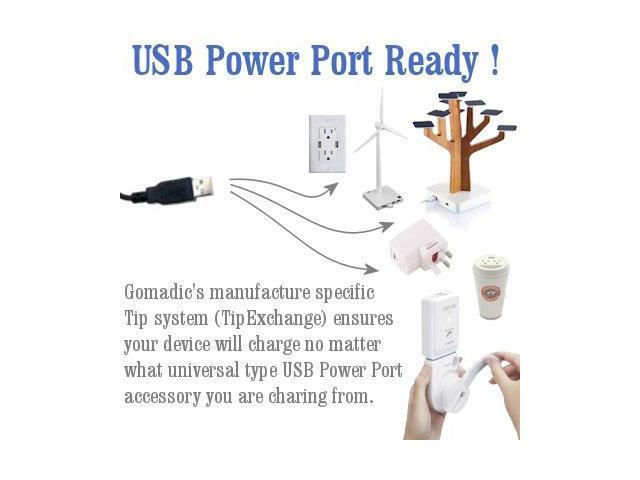 compact and retractable USB Power Port Ready charge cable designed for the Samsung Nexus Prime and uses TipExchange