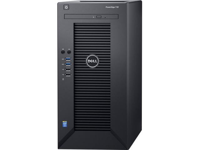Dell PowerEdge T30 Mini-tower Server - 1 x Intel Xeon E3-1225 v5 Quad-core  (4 Core) 3 30 GHz - 8 GB Installed DDR4 SDRAM - 1 TB (1 x 1 TB) Serial
