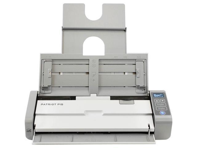 Visioneer Patriot P15 Portable Duplex Document Scanner - Newegg com