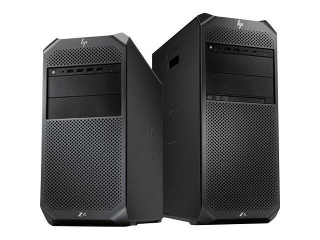 HP Z4 G4 Workstation - 1 x Xeon W-2125 - 8 GB RAM - 256 GB SSD - Mini-tower  - Black - Newegg com