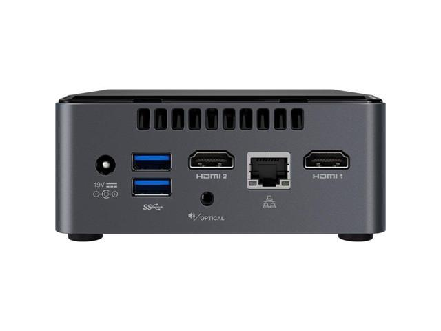 Intel NUC NUC7CJYH Desktop Computer - Intel Celeron J4005 2 GHz DDR4 SDRAM  - Mini PC - Intel UHD Graphics 600 Graphics - Wireless LAN - Bluetooth -