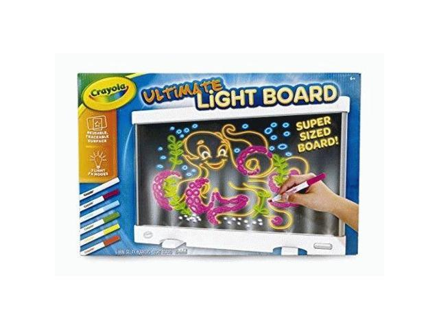 Crayola Ultimate Light Board, Drawing Tablet, Gift for Kids, Age 6, 7, 8, 9  - Newegg ca