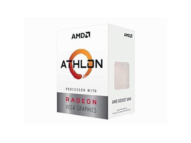 6566619f25e AMD Athlon 240GE 2-Core, 4-Thread, 3.5 GHz Base, Socket AM4 35W  YD240GC6FBBOX with Radeon Vega 3 Graphics Desktop Processor - Newegg.com