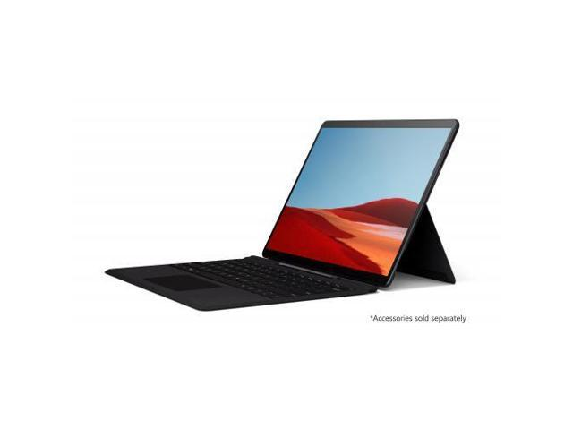 "Microsoft Surface Pro X 13"" Microsoft SQ1 8GB RAM 256GB SSD WiFi + 4G LTE Matte Black - Microsoft SQ1 Processor - Laptop, tablet, or studio mode - Microsoft SQ1 Adreno 685 - Windows 10 Home - 13"
