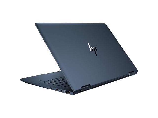 "HP Elite Dragonfly 13.3"" Touchscreen 2 in 1 Notebook - 1920 x 1080 - Core i5 i5-8265U - 16 GB RAM - 16 GB Optane Memory - 256 GB SSD - Blue - Windows 10 Pro 64-bit - Intel UHD Graphics 620 - In-p"