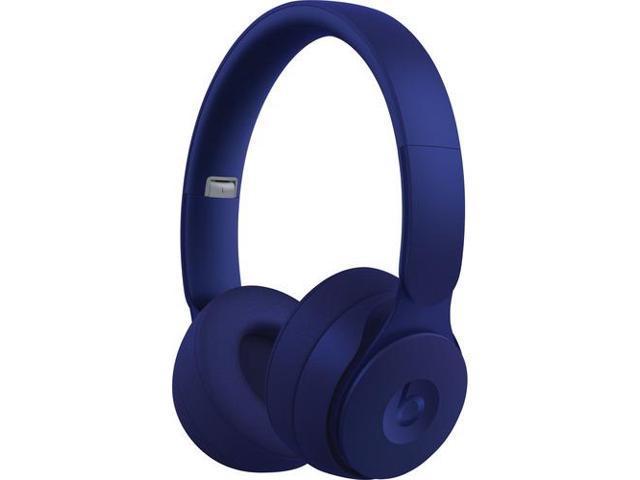 Beats By Dr Dre Solo Pro Wireless Headphones Stereo Wireless Bluetooth Over The Head Binaural Circumaural Noise Canceling Dark Blue Newegg Com