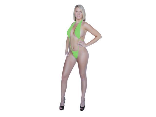 e439477464417 Flirtzy Sexy Open Front Halter Top Thong Back Monokini - Newegg.com