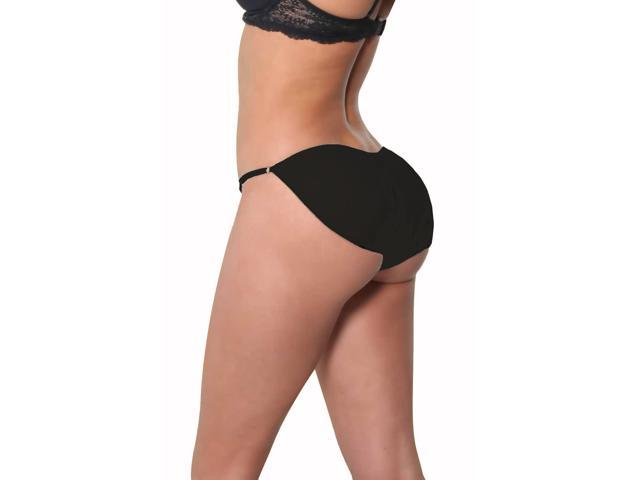 6fd6064cb8666 Fullness Butt Booty Enhancer Booster Padded Bikini Panty Body Shaper