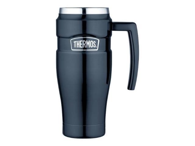 Thermos Stainless Steel King Travel Mug - 16oz (SK1000MBTRI4) - Newegg com
