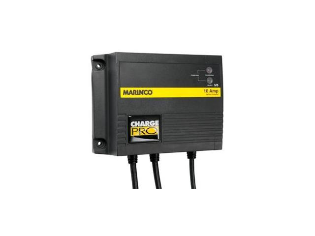 Marinco 10A On-Board Battery Charger 12//24V 2 Bank