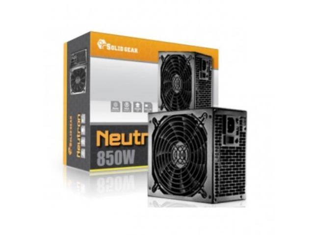 SOLID GEAR SDGR-850E Solid Gear SDGR-850E 850W PS2 ATX12V v2 3 and EPS12V  v2 91 Power Supply (Black) - Newegg com