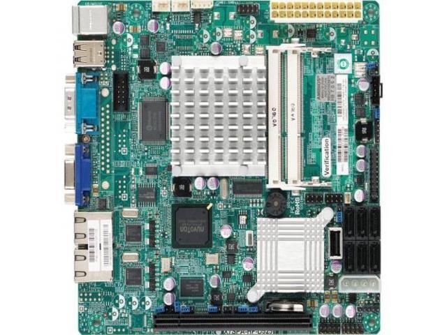 SUPERMICRO X7SPA-HF-D525-B Supermicro X7SPA-HF-D525-B Intel Atom D525 Intel  ICH9R DDR3 V and 2GbE Mini ITX Server Motherboard Bulk - Newegg com