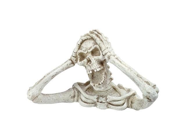 DESIGN TOSCANO JQ4830 SHRIEK THE SKELETON STATUE MEDIUM