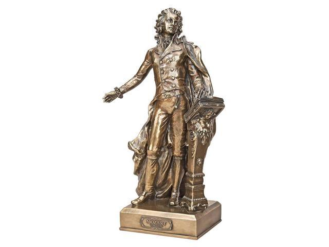 DESIGN TOSCANO WU75392 MOZART GREAT COMPOSER STATUE