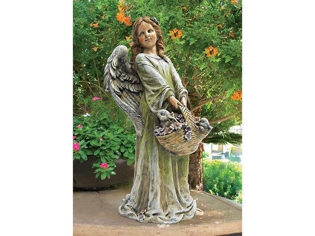DESIGN TOSCANO SH307661 JOY THE FLOWER ANGEL STATUE
