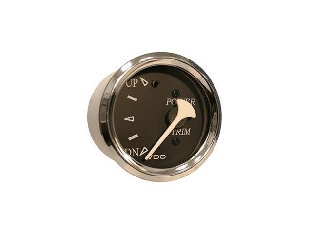 VDO 382-11276 Allentare Black Trim Gauge - For Use w/Evinrude/Johnson  Engines - 12V - Chrome Bezel - Newegg com