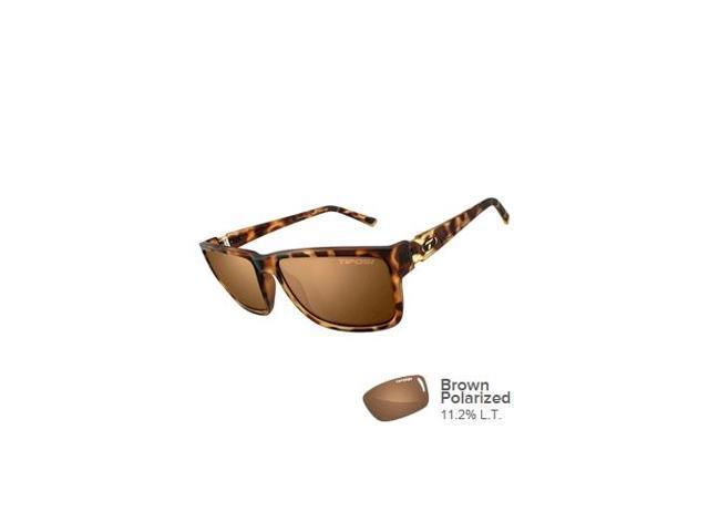 f2dc4f2f798 TIFOSI OPTICS 1270507350 Tifosi Hagen XL Brown Polarized Lens Sunglasses -  Matte Tortoise