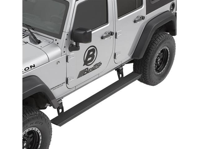 BESTOP BES75652 15 07 16 WRANGLER UNLIMITED POWERBOARD NX AUTOMATIC RUNNING  BOARDS