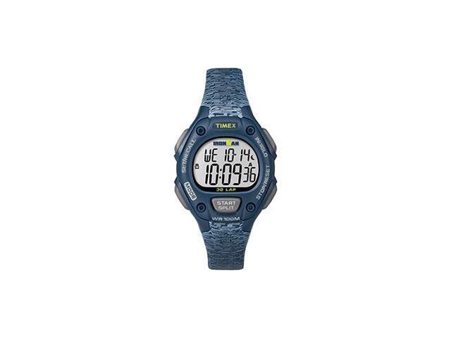 6a5b03ab830f Timex Ironman  Reg  Classic 30 reloj de tamaño mediano - azul gris calorías  quemadas   ninguno  Tipo de cartografía   ninguno  - Newegg.com