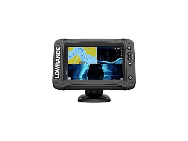 Lowrance LOW#00014638001 Elite-7 Ti Combo w/Active Imaging 3-in-1 Transom  Mount Transducer US Inland Chart - Newegg com