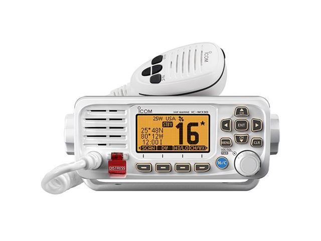 Icom America Inc ICO#ICM33041 Icom M330G White VHF With GPS - Newegg com