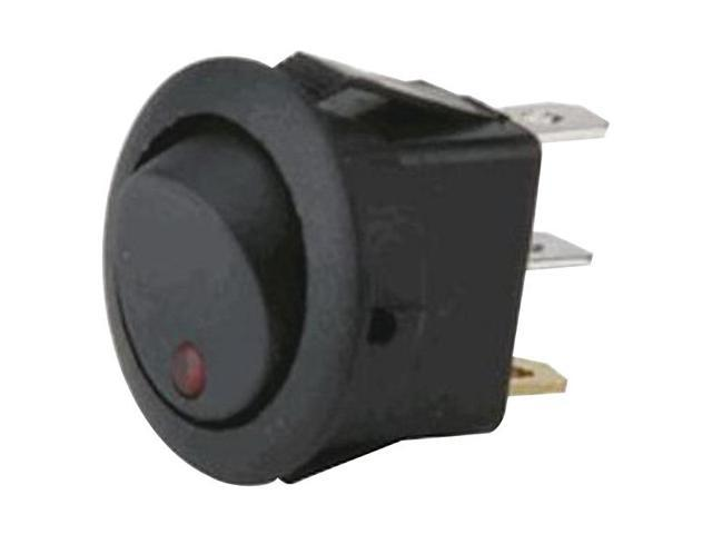The Install Bay IBRRSR ROUND ROCKER SWITCH W LED - Newegg com