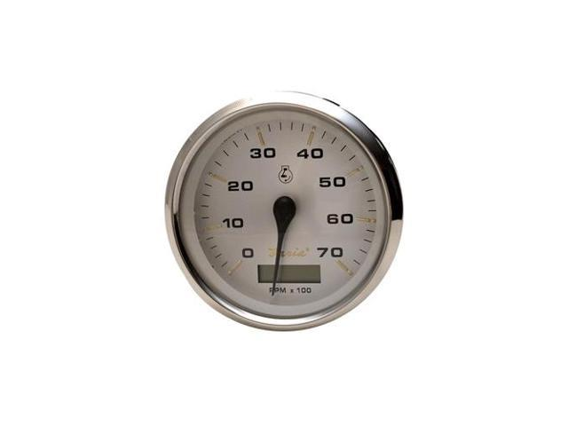 Faria THC054B Kronos 7000 RPM I//O Boat Tachometer Gauge w// Hour Meter