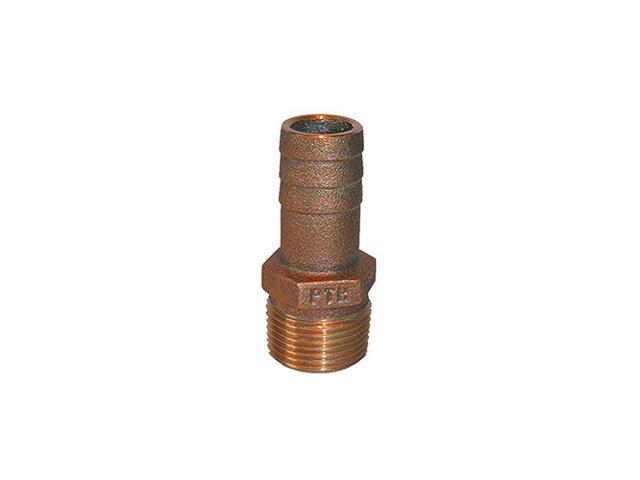 Groco Pipe to Hose Adapter Straight 1/""
