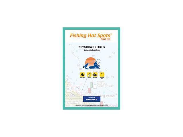 FISHING HOT SPOTS E189 Fishing Hot Spots Pro SW 2019 Saltwater Charts  Nationwide Coastlines f/Lowrance Simrad Units - Newegg com